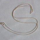 Łańcuszek srebrny pancerka grubsza 50 cm