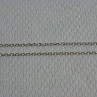 Łańcuszek srebrny ankier diamentowany 50 cm