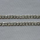 Łańcuszek pancerka srebrny 55 cm