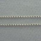 Łańcuszek kostka srebrny 50 cm