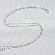 Łańcuszek figaro srebrny 55 cm