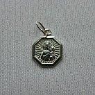 Medalik srebrny Matka Boska Częstochowska ramka