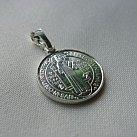 Medalik srebrny św. Benedykta mniejszy