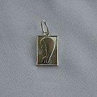Medalik srebrny Matka Boska profil