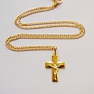 Krzyż pozłacany włoski
