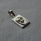 Medalik srebrny Matka Boska
