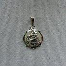 Medalik srebrny diamentowany wzór 9