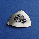 Ryngraf Srebrny Orzeł w Koronie 4x3.5 cm.