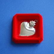 Ryngraf srebrny Serce Wotum mniejsze