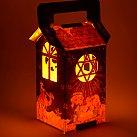 Lampion na roraty papierowy szopka