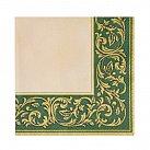 Serwetka klasyczna zielony wzór