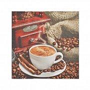 Serwetka dekoracyjna Ziarna Kawy