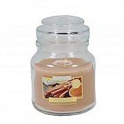 Świeca zapachowa w słoiczku Cynamon
