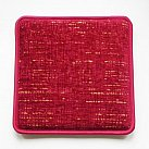 Poduszka na ławkę w kolorze bordo