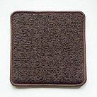 Poduszka na ławkę w kolorze ciemny brąz