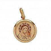 Złoty Medalik Maryja Jezus
